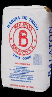 Molino harinero harinas 0000 bolsas 25kg 50 kg